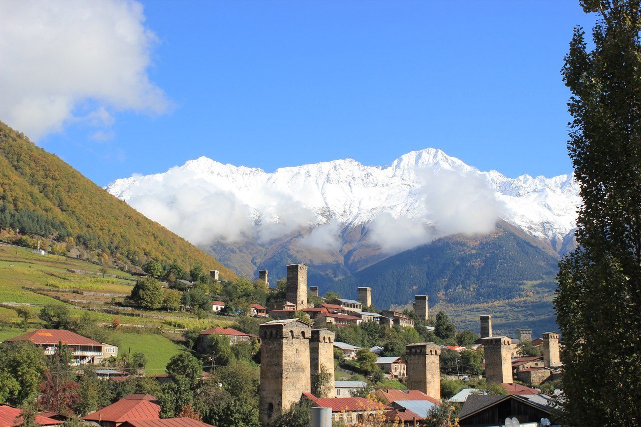 Svaneti – only the sky above (from Kutaisi)
