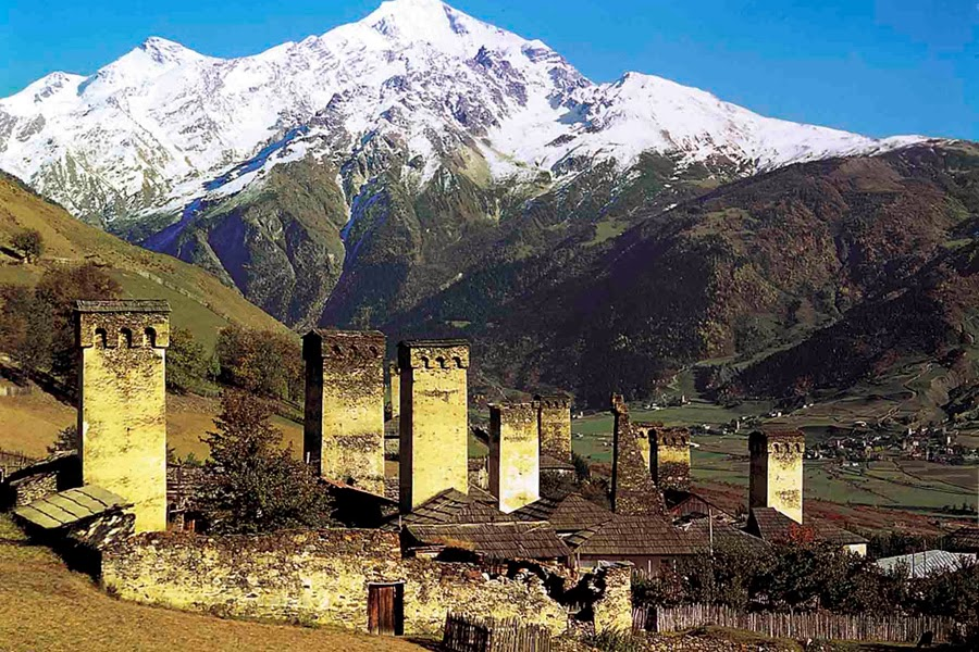 Svaneti – only the sky above (from Tbilisi)