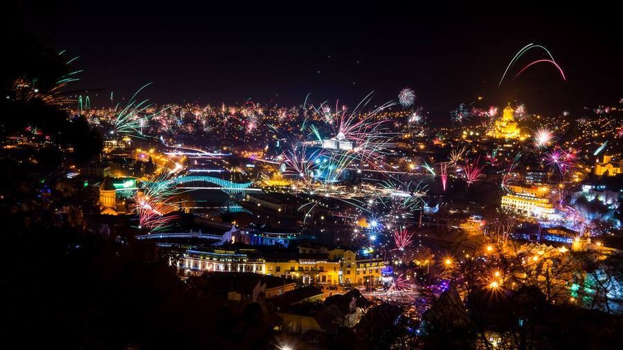 New Year 2018 in hospitable Georgia!