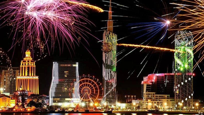New Year 2019 in Batumi